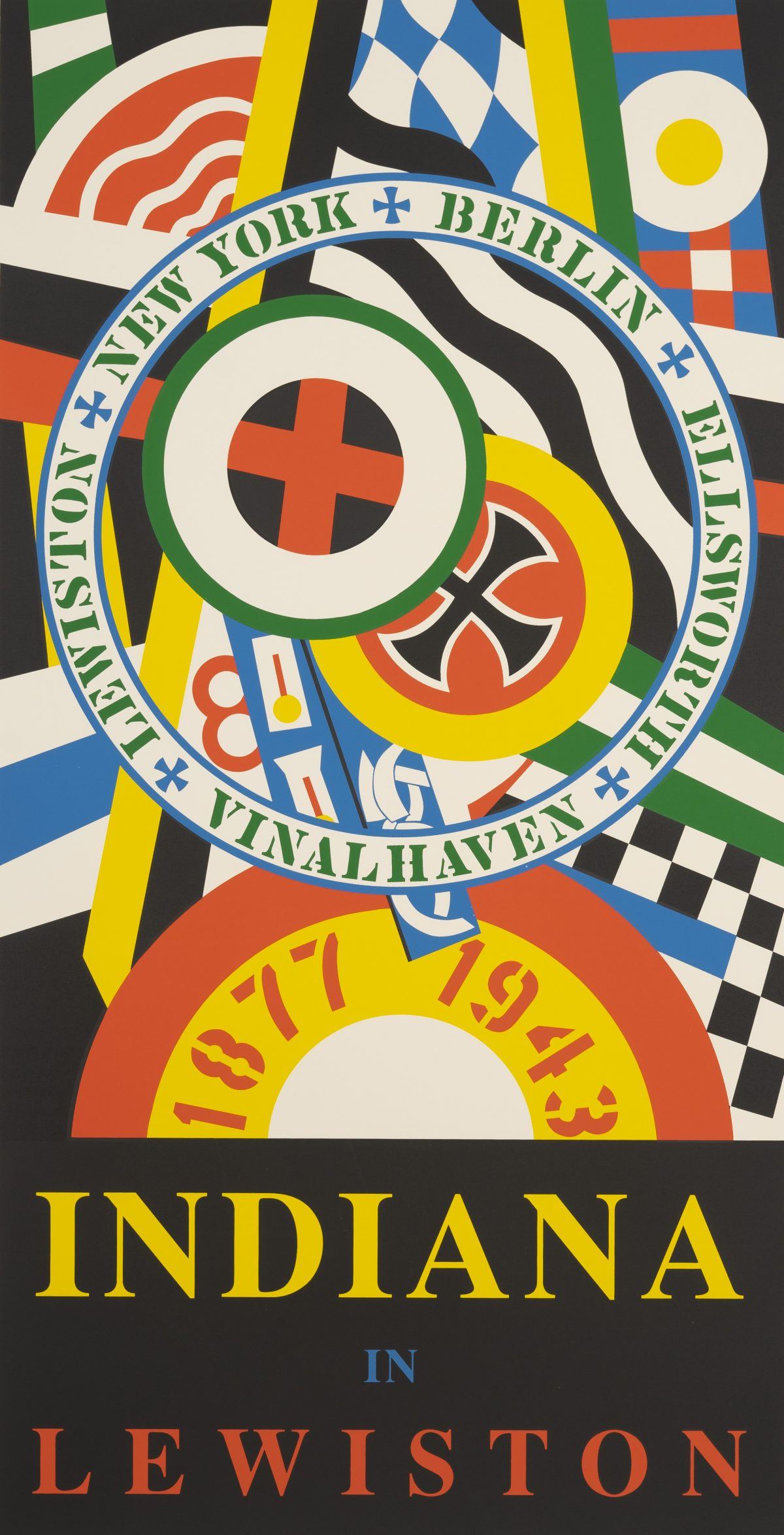 Robert Indiana - Indiana in Lewiston