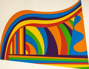 Sol LeWitt - Arcs and Bands in Color