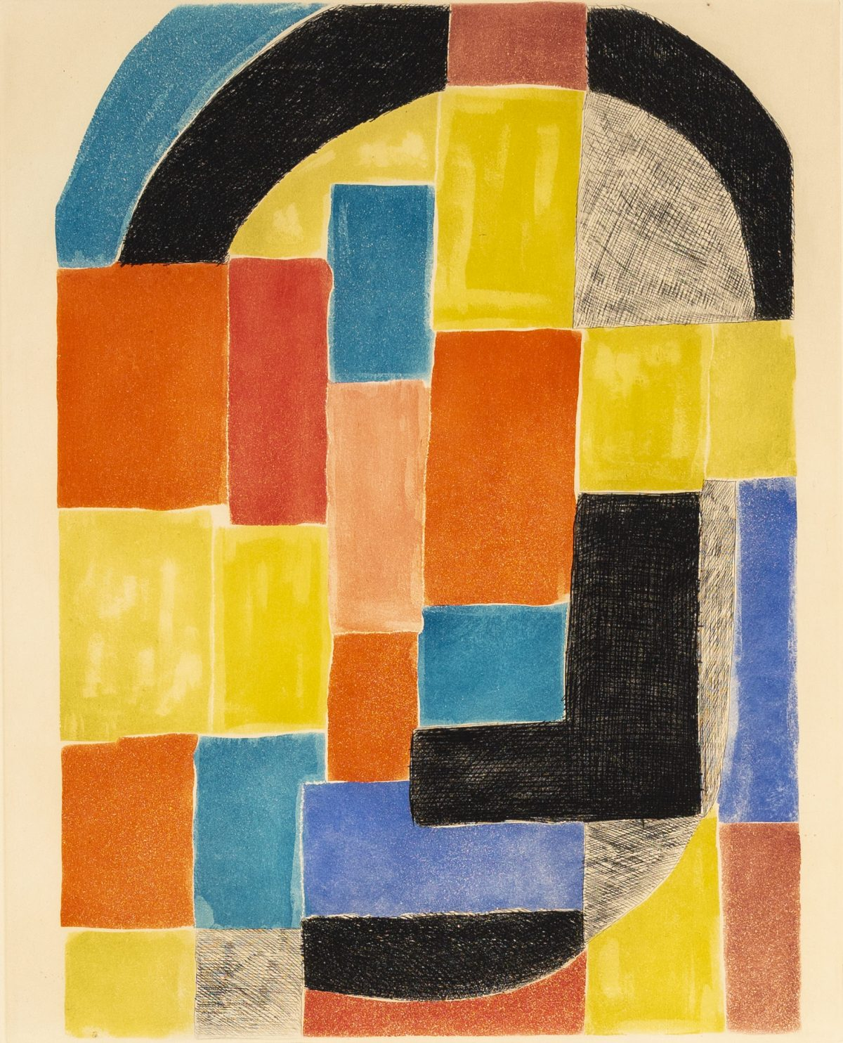 Sonia Delaunay - Composition