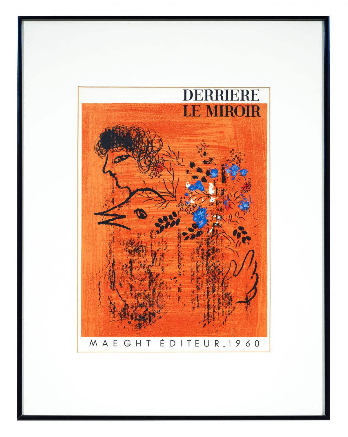 after Marc Chagall - Derriere le Miroir (cover 121-122)