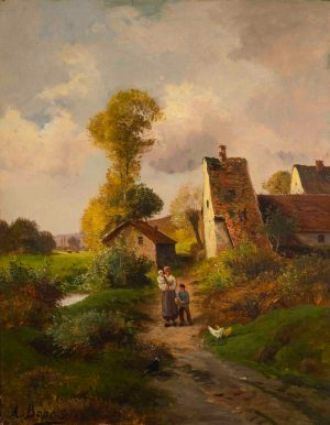 Antonia Bosc - Untitled (House in the country)