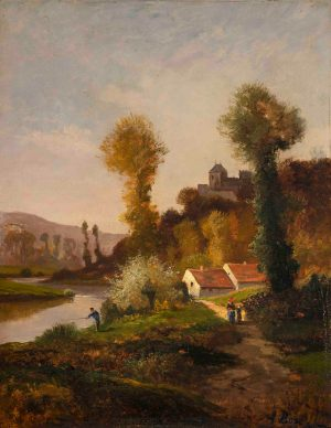 Antonia Bosc - Untitled (House on the river)