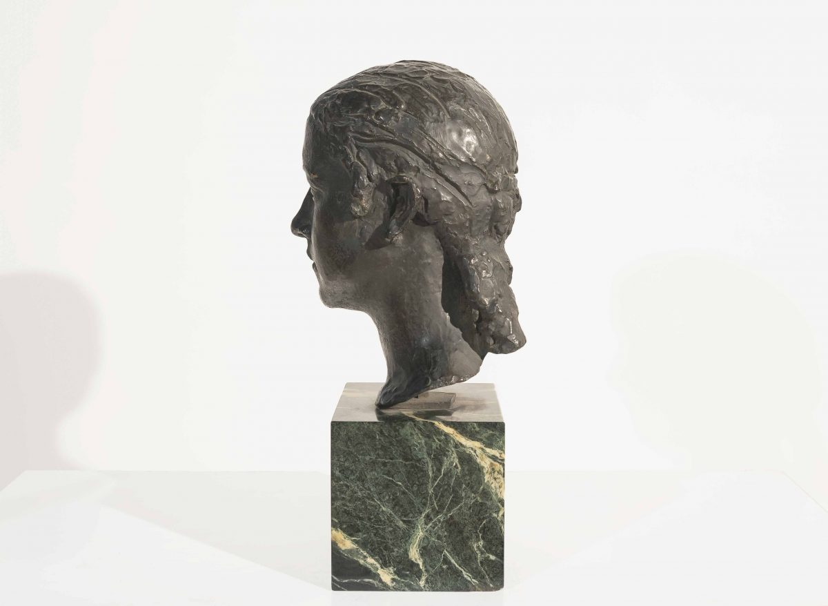Charles-Albert Despiau - Bust of a young woman