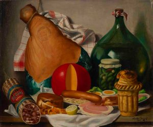 Charles Cerny - Still life with charcuterie