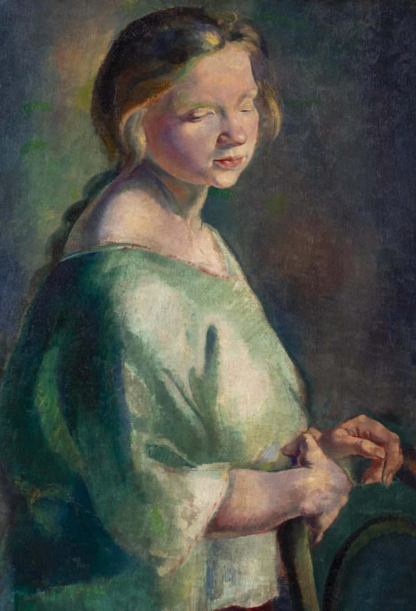 Clara Klinghoffer - Untitled (Young woman)