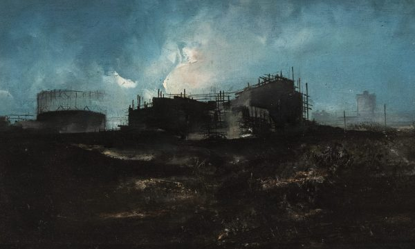 Giulio Scapaticci - Untitled (Industrial scene)