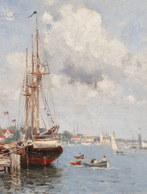 Guy C. Wiggins - On the Mystic river