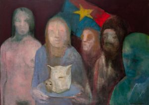 Jo Anne Schneider - 5 People and a Pig's Head