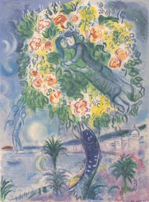 Marc Chagall - Couple et Poisson, from Nice and the Côte d'Azur