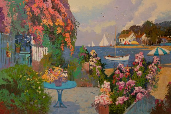 Ming Feng - Summer Garden by the Sea