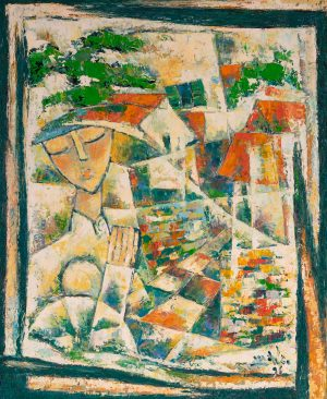Minh Duc - Composition with a woman