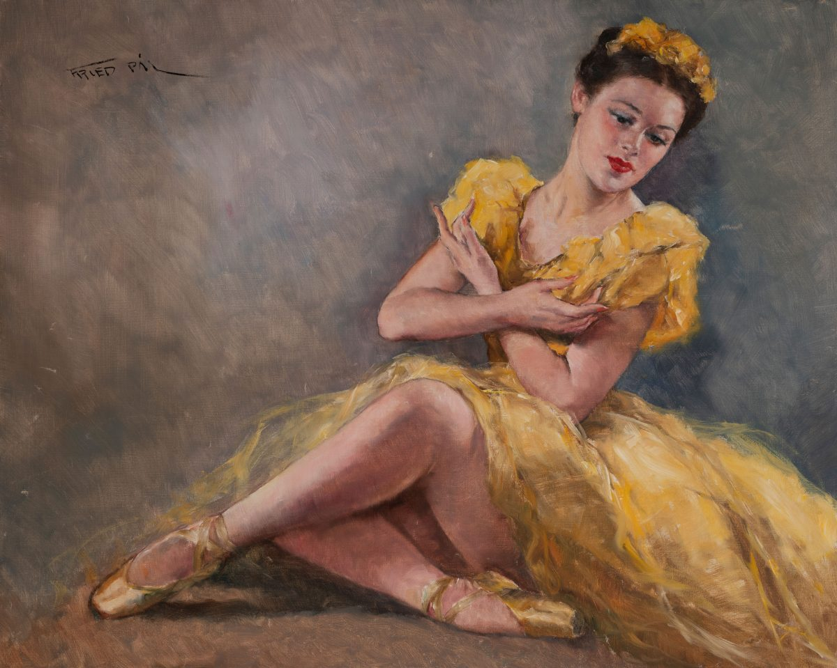 Pál Fried - Ballerina in Yellow