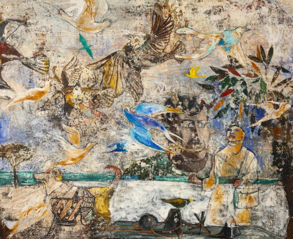 Paton Miller - Untitled (Figures and birds)