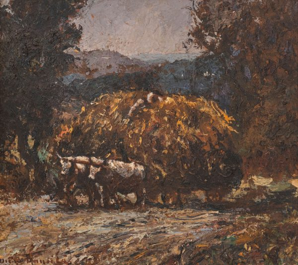 Unknown Artist - Hay Cart