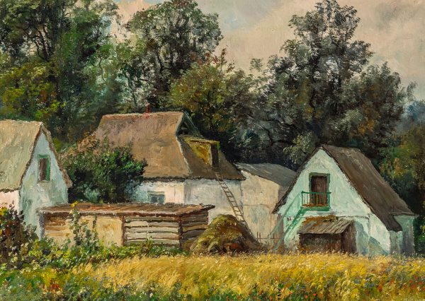 Unknown Artist - Untitled (Cottages)