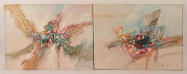 B. Chadwick, Abstracts with Color Cubes O/C