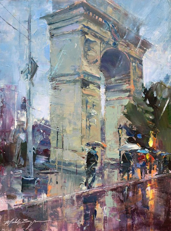 Michele Byrne - Washington Square Rain