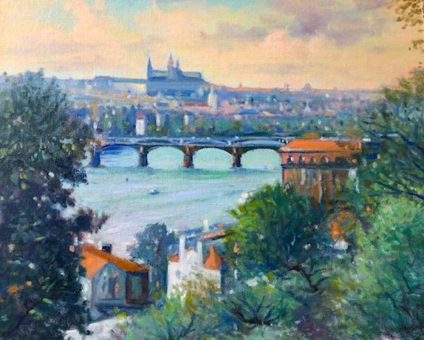 Richard Rosenblatt - A View of Prague, Czech Republic