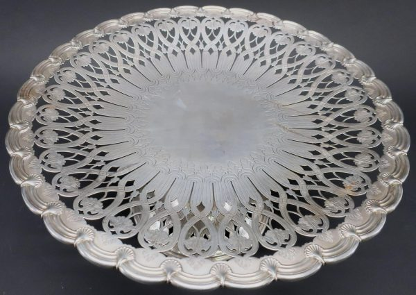 Tiffany & Co Sterling Silver Cake Stand