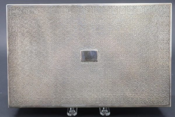 Tiffany & Co. Sterling Silver Humidor