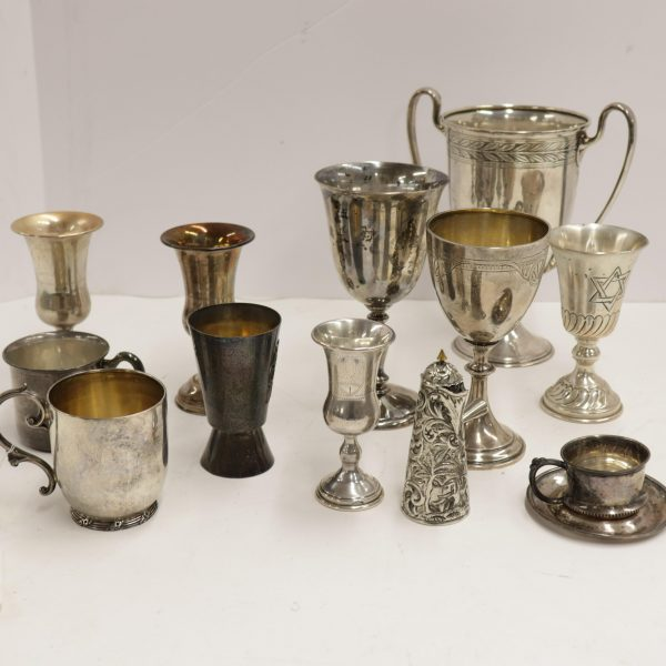 Sterling Silver Cups & Tiffany & Co. Loving Cup