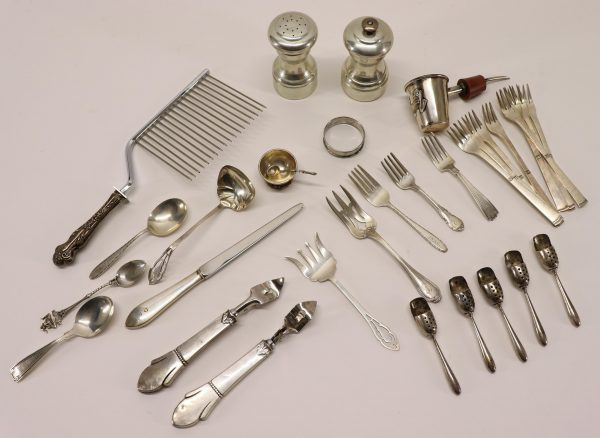 Group of Small Sterling Silver Items
