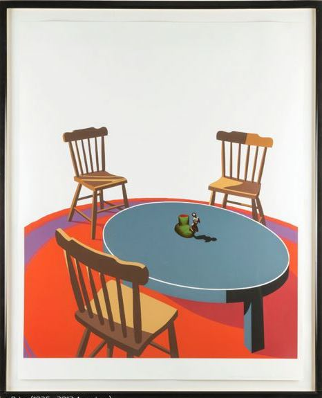 Ken Price - Chairs, Table, Rug, Cup (Interior  Series)