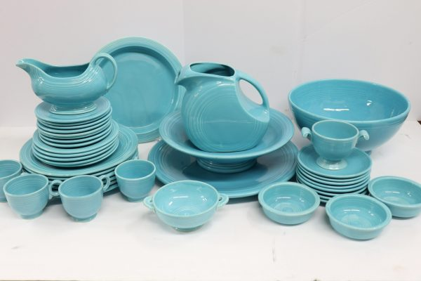 Collection of Turquoise Fiesta Ware