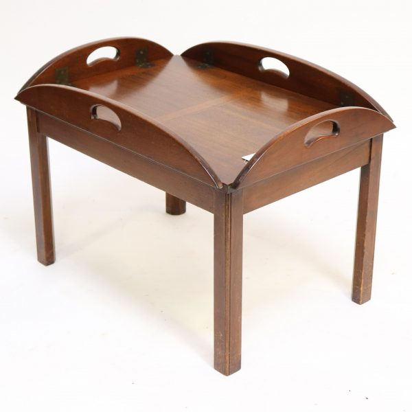 Butler's Style Mahogany Coffee Table