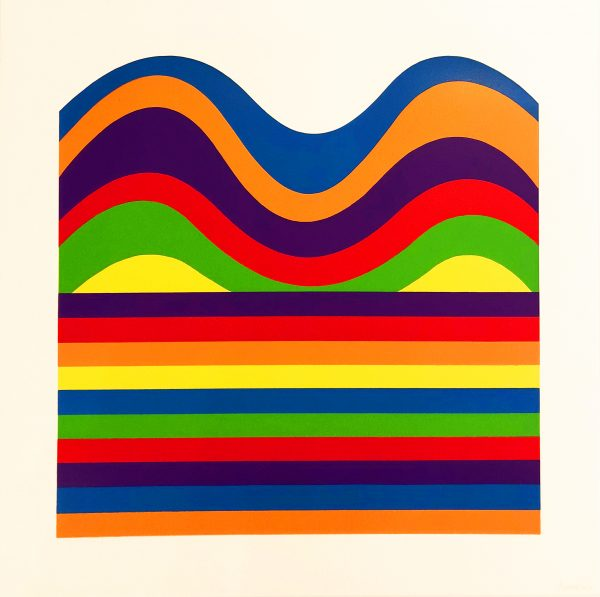 Sol Lewitt - Arcs and Bands in Color E