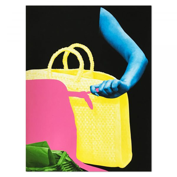 John Baldessari - Hands and/or Feet: Two Bags and Envelope Holder (with Envelopes)