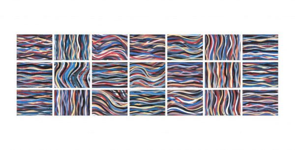 Sol Lewitt - Brushstrokes: Horizontal And Vertical
