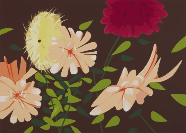 Alex Katz - Late Summer Flowers