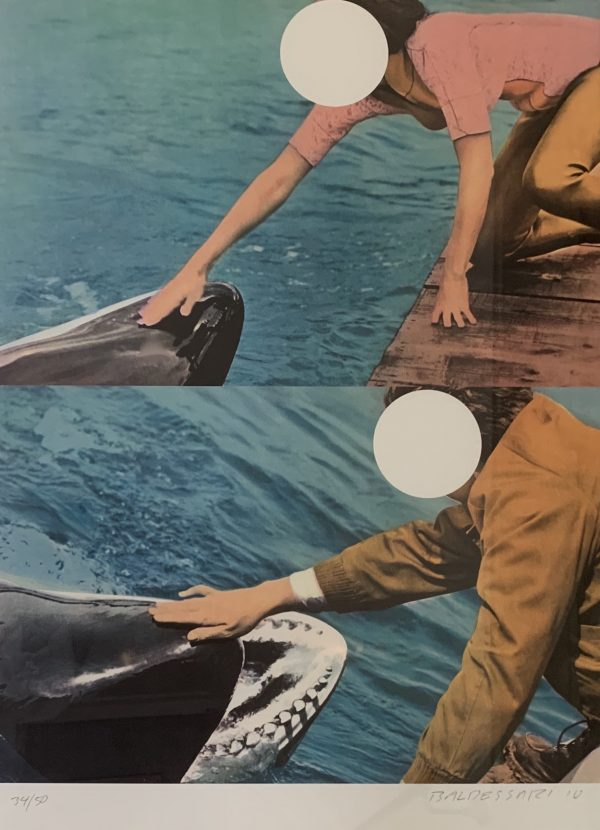 John Baldessari - Two Whales (with People)