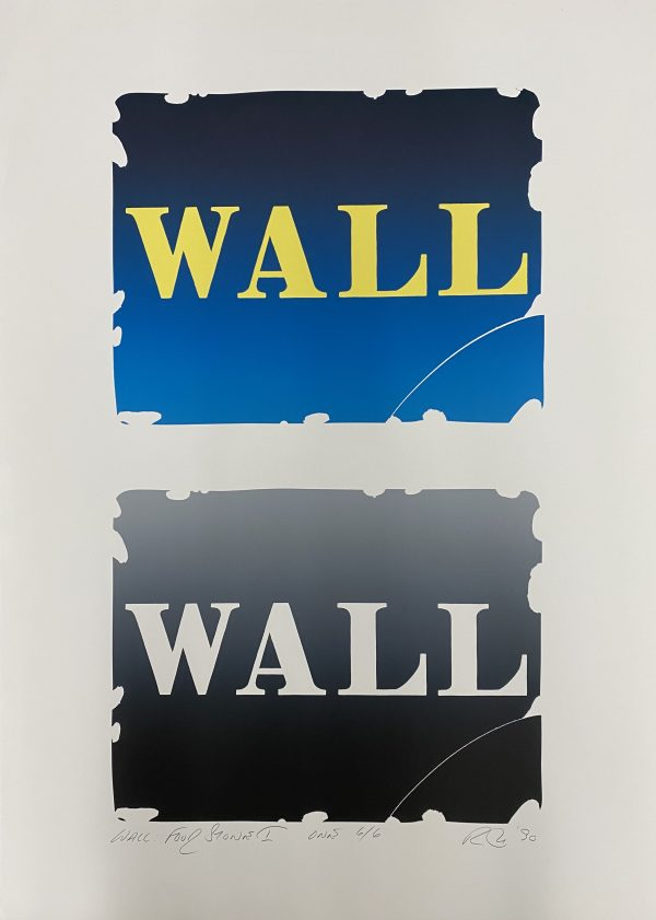 Robert Indiana - Wall: Four Stones I - One