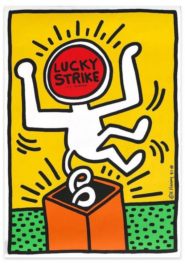 Keith Haring - Lucky Strike