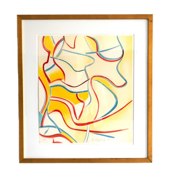 Willem de Kooning - Untitled from Quatre Lithographies