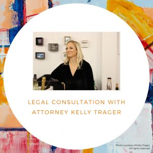 Legal consultation with Kelly Trager