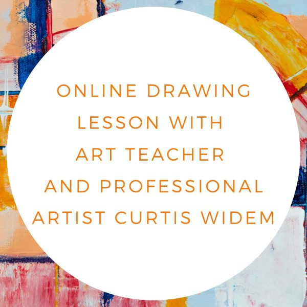 A 30- to 45-minute online drawing lesson for children or adults from a New York City art teacher and experienced professional artist