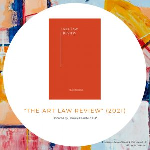 Copy of The Art Law Review (2021)